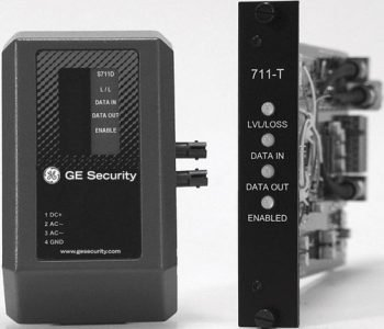 GE Security S711D-EST2 MM MPD Data Hi-Performance TCVR, 2-Fiber