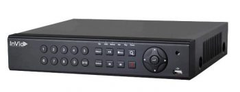 InVid PN1A-4X4-4TB 4 Channel 4K Network Video Recorder with 4 Plug & Play Ports, 4TB