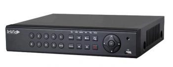 InVid PN1A-4X4-6TB 4 Channel 4K Network Video Recorder with 4 Plug & Play Ports, 6TB