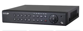 InVid PN1A-8X8-500GB 8 Channel Network Video Recorder with 8 Plug & Play Ports, 4K, 500GB