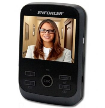 Seco-Larm DP-266-M3Q Additional 3″ Wireless Color Video Door Phone Monitor for DP-266-1C3Q