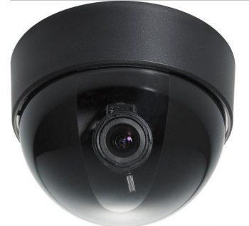 Everfocus ED300/N 520 TVL Indoor Mini Dome Color Camera, Lens 3.7-12mm