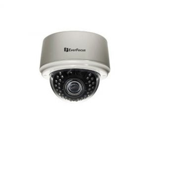 Everfocus ED335/MVB 3-Axis 520 TVL Indoor IR Dome Camera with Vari-focal Lens 2.8-10mm