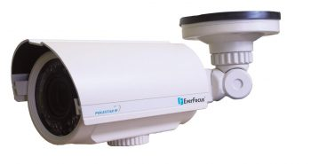 Everfocus EZ765/N 720 TVL True WDR IR Day/Night IP66 Bullet Camera, 5-50mm Lens