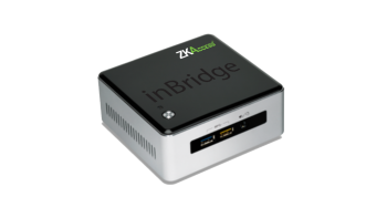 ZKAccess inBridge Server ZKBio Security Management Software Conveniently Pre-loaded in a Secured Box