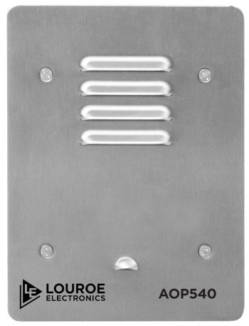 Louroe Electronics LE-540 Speakerphone Full-Duplex Communication and DSP technology
