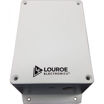 Louroe Electronics LE-875 Digifact E Outdoor IP Microphone with Audio Analytics Capability
