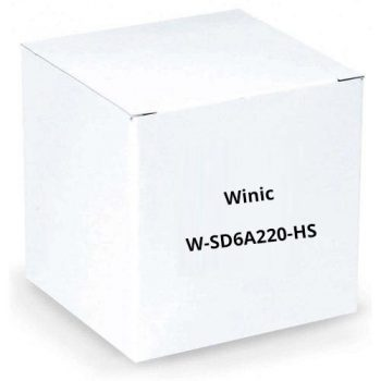 Winic W-SD6A220-HS 2 Megapixel Full HD HD-SDI IR PTZ Dome Camera
